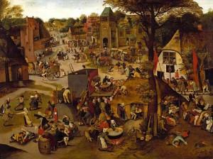 Brueghel, Village Festival 1627