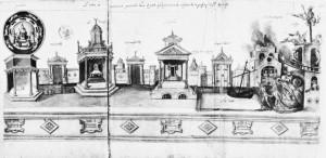 Cailleau, Valenciennes Mystery Play, 1547