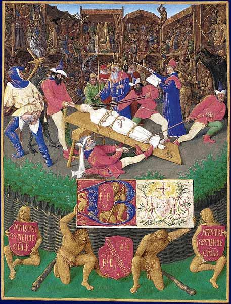 Fouquet, The Martyrdom of Saint Apollonia