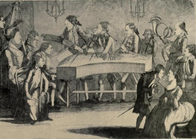 Monday Concert at the Oxford Room, 1780